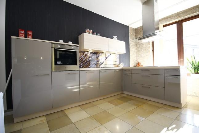 nolte musterk che lux ausstellungsk che in ottobrunn von. Black Bedroom Furniture Sets. Home Design Ideas