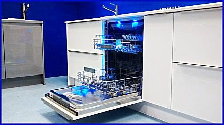 Wir führen moderne Hausgeräte wie Spülmaschine oder Backofen und kleine Küchenhelfer