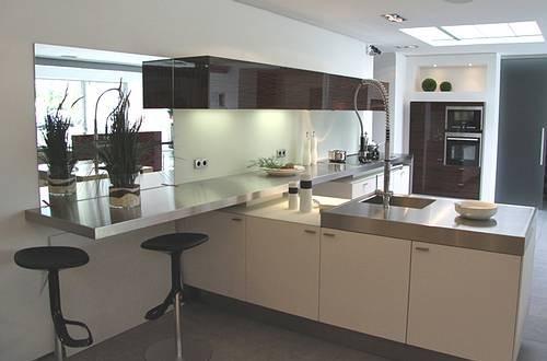 Hausmarke Musterküche Kompakte Wohnküche