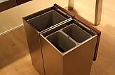 bulthaup musterk che werkbank edelstahl und nussbaum ausstellungsk che in von. Black Bedroom Furniture Sets. Home Design Ideas