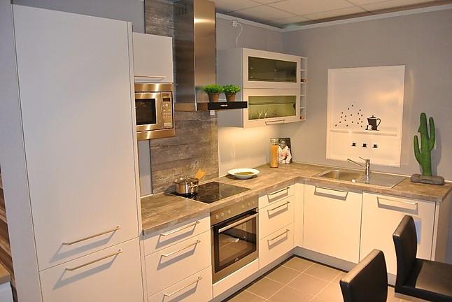 Nobilia-Musterküche moderne L-Form-Küche