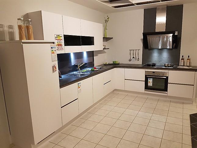 Möbel Cordes nobilia musterküche moderne küche grifflos ausstellungsküche in