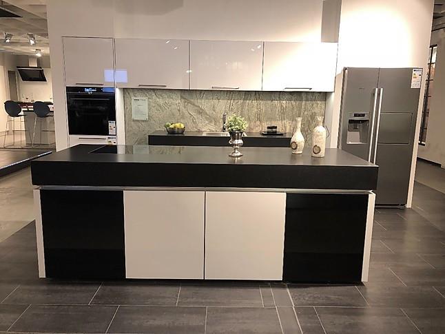kuche weiss granit schwarz. Black Bedroom Furniture Sets. Home Design Ideas