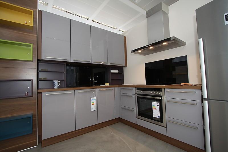 nobilia musterk che musterk che primo platinium hochglanz ausstellungsk che in dresden von. Black Bedroom Furniture Sets. Home Design Ideas