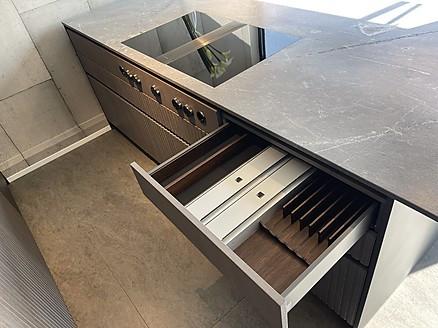 Kücheninsel mit Bora Kochfeldabzug
