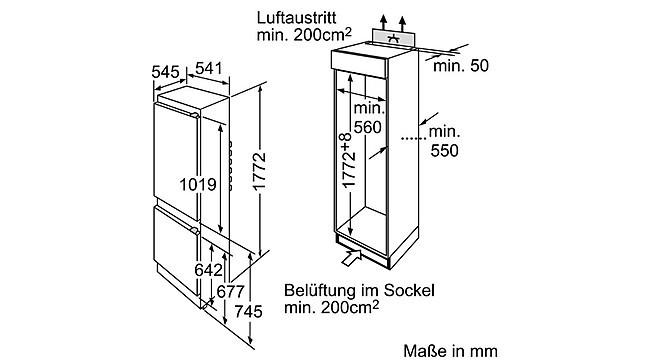 k hlschrank ki34vv22ff siemens einbau k hl gefrierkombination ki34vv22ff neu ovp siemens. Black Bedroom Furniture Sets. Home Design Ideas