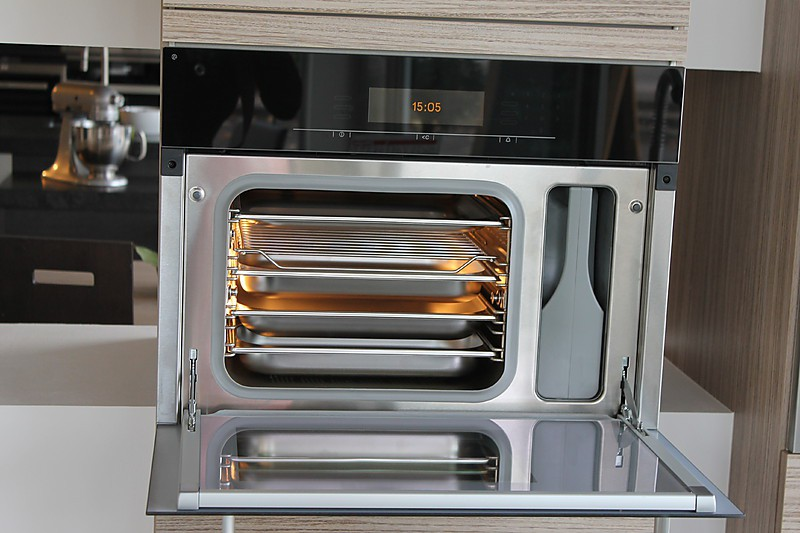 Dampfgarer und kombigerate miele dgc 5080 schwarz kombi for Kombi dampfgarer