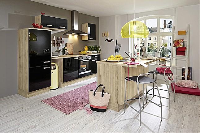 k chentreff musterk che inselk che hochgl nzend ausstellungsk che in von. Black Bedroom Furniture Sets. Home Design Ideas