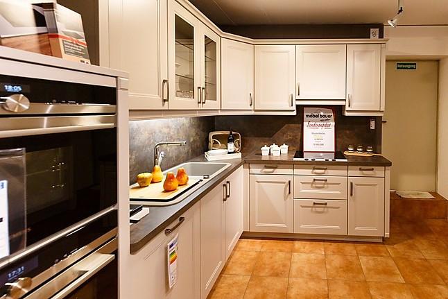 bauformat musterk che hochwertige landhaus k che ausstellungsk che in freudenburg von m bel. Black Bedroom Furniture Sets. Home Design Ideas