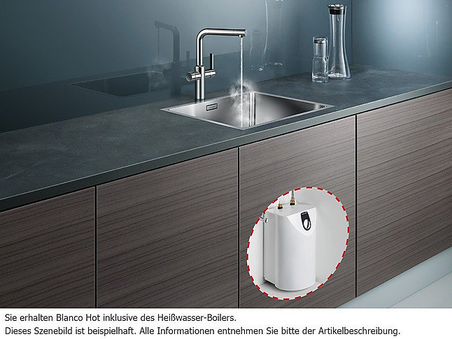 kochend wasserhahn 519064 blanco hot hei wassersystem chrom hochdruck 519064 blanco. Black Bedroom Furniture Sets. Home Design Ideas