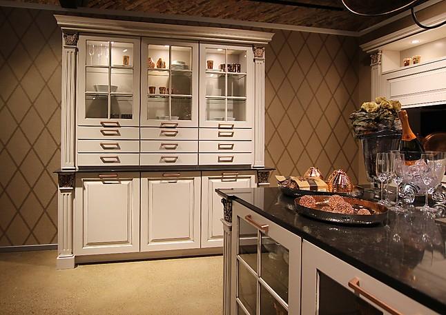 bauformat-Musterküche Luxus Küchenbuffet: Ausstellungsküche in ...