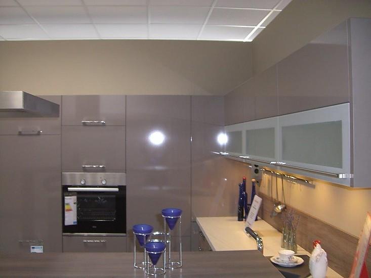 Häcker Musterküche Wohnküche Ausstellungsküche in