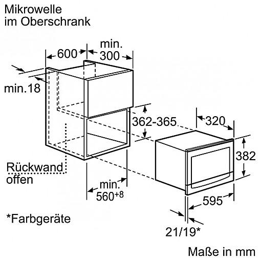 sonstige und zubeh r c54r70n0 cr5470n neff einbaumikrowelle cr5470 n mit grill t ranschlag. Black Bedroom Furniture Sets. Home Design Ideas