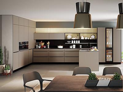 Moderne offene Küche von Rotpunkt