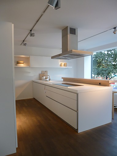 bulthaup musterk che k che mit insel funktionsk che ausstellungsk che in frankfurt main von. Black Bedroom Furniture Sets. Home Design Ideas