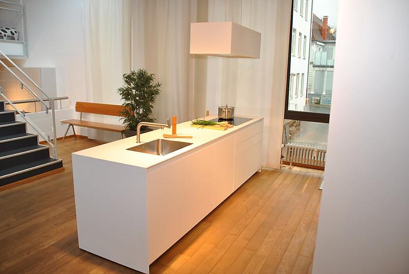 bulthaup musterk che bulthaup b3 laminat wei. Black Bedroom Furniture Sets. Home Design Ideas