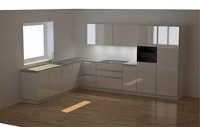 sonstige musterk che trifft auf v zug bora bosch dornbracht und miele ausstellungsk che in. Black Bedroom Furniture Sets. Home Design Ideas