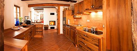 Altholzküche von Pfister