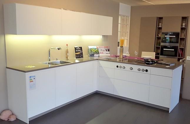 Küchen Dilling rational musterküche moderne grifflose design küche