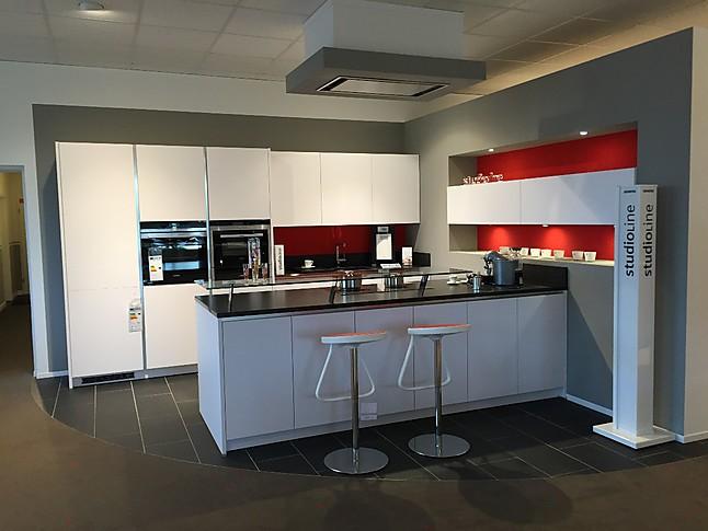 Elementa AV1035 GL Moderne 2 Zeilige Küche