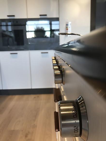 Gas Herd Küchen Detail