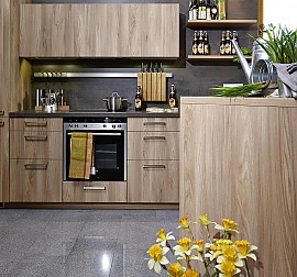 systhema musterk che einfach zum wohlf hlen ein moderner gem tlicher landhauslook. Black Bedroom Furniture Sets. Home Design Ideas