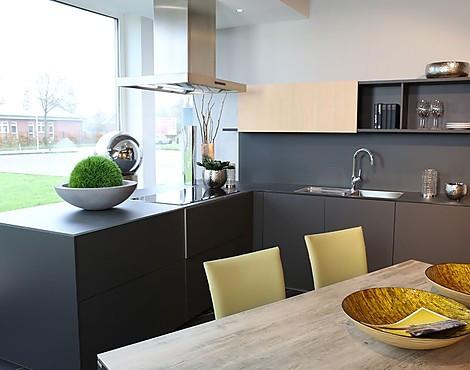 Moderne Schwarze Design Küche   Nx902