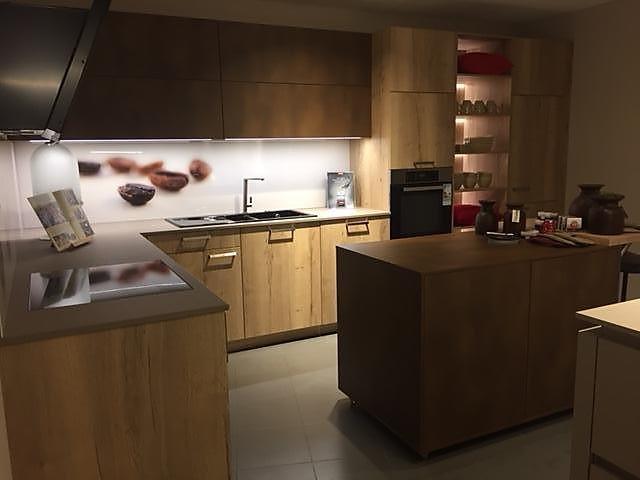 Schüller-Musterküche Gemütlich - elegante Familienküche ...