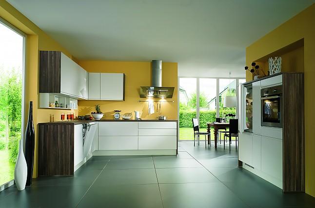 Nobilia musterküche modern landhaus küche ausstellungsküche in