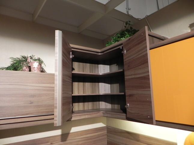 Nolte-Musterküche moderne Einbauküche, Orange Hochglanz ca ...