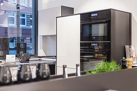 Moderne Küche, Ausstellung