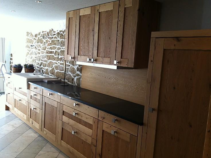 Eggersmann musterkuche verkauft hochwertige landhaus holz for Granitplatte küche