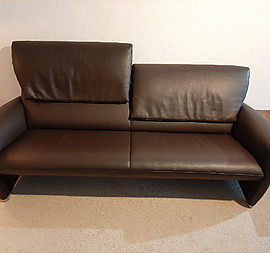Sofa/Couch 3-Sitzer in Leder