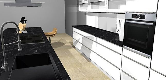 nobilia musterk che lack k che hochglanz wei oder. Black Bedroom Furniture Sets. Home Design Ideas