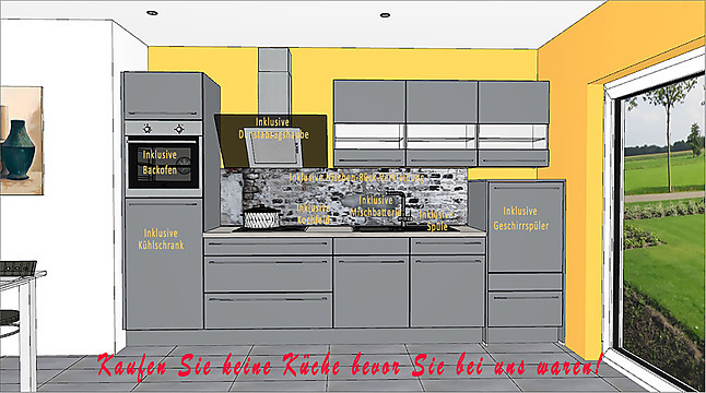 Nobilia Musterkuche 350 Cm Ausstellungskuche In Koln Von Kolner