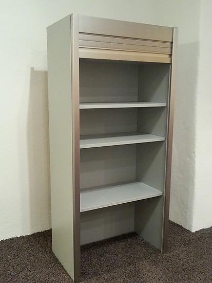 impuls musterk che aufsatzschrank mit rolladen 1288mm. Black Bedroom Furniture Sets. Home Design Ideas