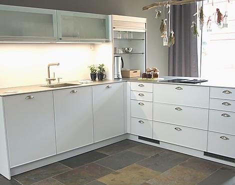 AV5020 Mattlack Polarweiß, Schmaler Rahmen Moderne Küche   AV5020 Mattlack  Polarweiß