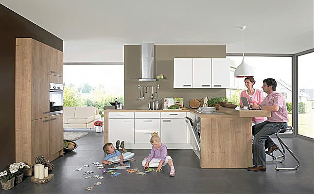 nobilia musterk che moderne familienk che ausstellungsk che in willingshausen wasenberg von. Black Bedroom Furniture Sets. Home Design Ideas