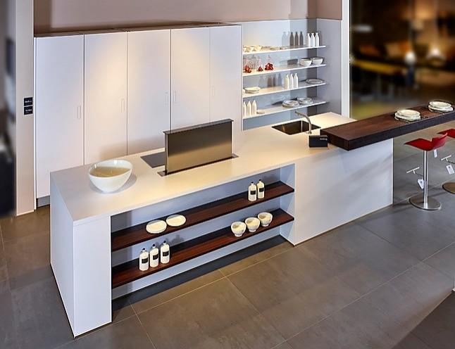 next125 musterk che edele designk che in matt polarweiss ausstellungsk che in nordhorn von. Black Bedroom Furniture Sets. Home Design Ideas