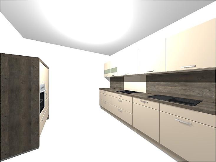 nobilia musterk che k che 4 ausstellungsk che in garrel von m belhaus kemper. Black Bedroom Furniture Sets. Home Design Ideas
