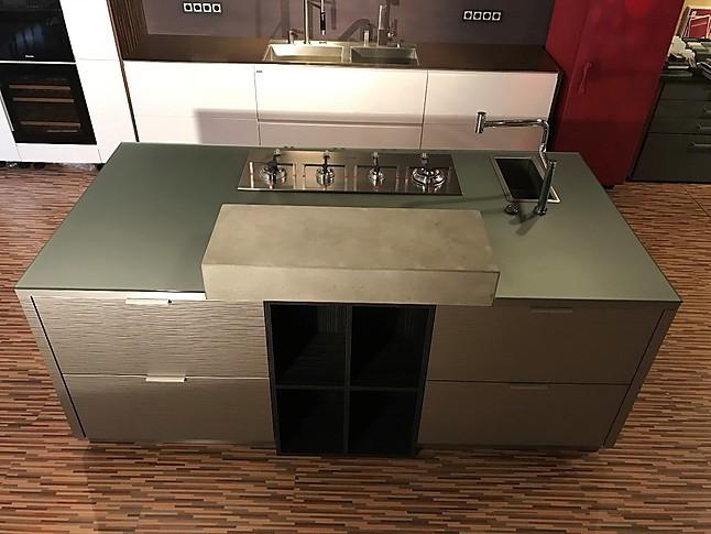 allmilm musterk che phantastische k che luxus pur lack glas keramik beton edelfurnier mit e. Black Bedroom Furniture Sets. Home Design Ideas