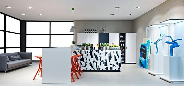 Nolte-Musterküche Neo Loft Küchenensemble - Inkls. 5