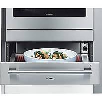 Wärmeschubladen  Wärmeschubladen und Tellerwärmer HW290560 Wärmeschublade von Siemens ...