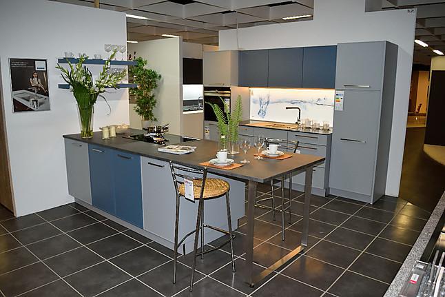 Nolte   Contour Moderne Küchenzeile Mit Kochinsel Und Theke