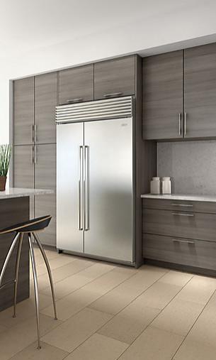 k hlschrank icbbi 48s s th gro e k hl gefrierkombination sub zero wolf k chenger t von. Black Bedroom Furniture Sets. Home Design Ideas