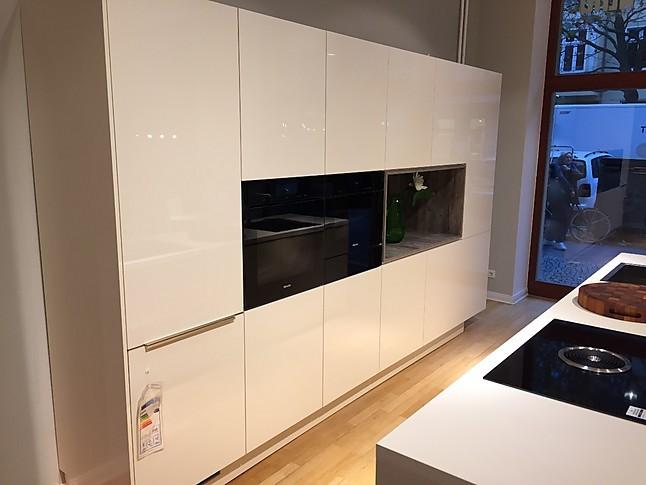 hausmarke musterk che design k che puristisch modern ausstellungsk che in berlin von nobloxx gmbh. Black Bedroom Furniture Sets. Home Design Ideas