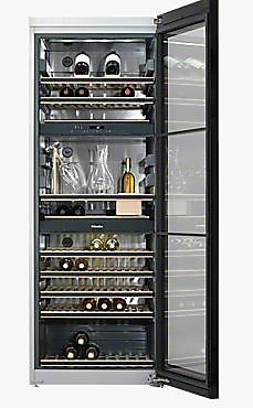 weink hlschrank kwt6834sgs stand weintemperierschrank miele k chenger t von siematic by gienger. Black Bedroom Furniture Sets. Home Design Ideas