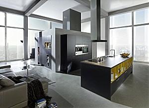 contur musterk che wohnk che mit miele ger ten ausstellungsk che in pinneberg von k chen kate. Black Bedroom Furniture Sets. Home Design Ideas