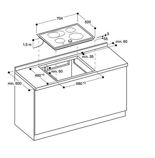 sonstige ci 271 112 induktionskochfeld gaggenau k chenger t von meiser k chen gmbh in hanau. Black Bedroom Furniture Sets. Home Design Ideas