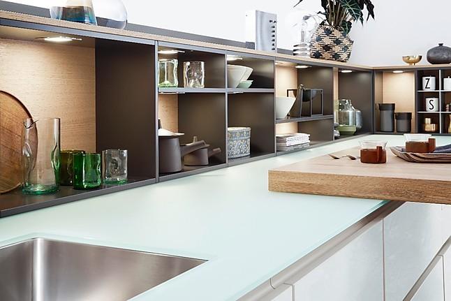 leicht musterk che grifflose l k che mit echtholz und lack qualit ts traumk che zum. Black Bedroom Furniture Sets. Home Design Ideas